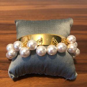 Dangly Pearl Bracelet by Mignonne Gavigan